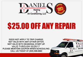 discount on plumbing, heating and ac services
