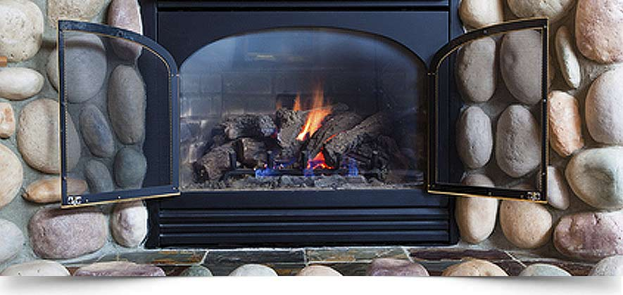 Albuquerque Gas Log Fireplace Installation Repair